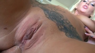 The perfect anal gap is hard core stuffed with the pretty gross dick