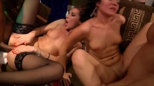 In this wild party porn u'll watch how filthy coeds celebrate Fresh Year. Unbelievably hawt and raunchy!