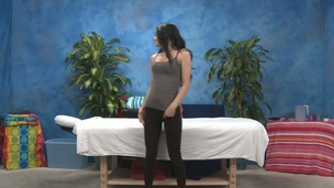 Sexy 18 gal gets drilled hard by her massage therapist