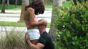 Concupiscent legal age teenager floozy enjoys each friction of her mature lover