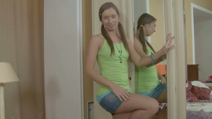 Hunk is delighting honey with a lusty anal thrashing