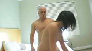 Admirable doggystyle drilling and oral-sex