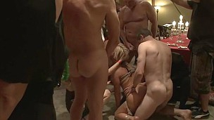 Busted sexy playgirl sex masseuse bound and fucked Asa Akira.