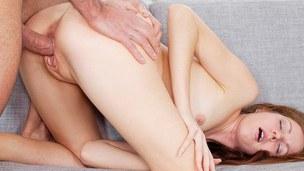 Hardcore fucking shown in a hawt glam porn vid