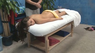 Sweetheart not solely gets a lusty fur pie massage but a deep drilling too!